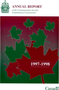 1997-1998 Annual Report Cover
